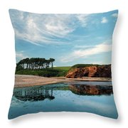 Reflections Of Budleigh Throw Pillow