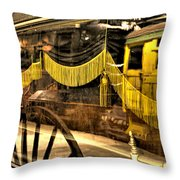 Reflections Of Death Throw Pillow