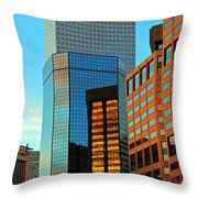 Reflections Of Denver Throw Pillow