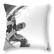 Reflections Of Freedom Throw Pillow