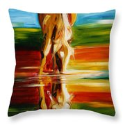 Reflections Of Glory Throw Pillow