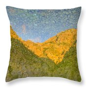 Reflections Of Montenegro No.3 Throw Pillow
