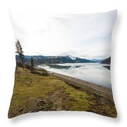 Reflections Of Mosier Throw Pillow