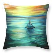 Reflections Of Peace Throw Pillow