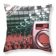 Reflections Of Photography Throw Pillow