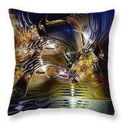 Reflections Of The Dervish Throw Pillow