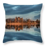 Reflections Of The Heart Throw Pillow