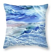 Reflections Of The Moon Throw Pillow
