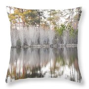 Reflections Of The South Throw Pillow