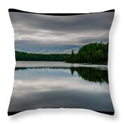 Reflections Of Time Throw Pillow