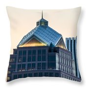 Reflections On Legacy Tower Throw Pillow