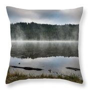 Reflections On Reflection Lake 2 Throw Pillow