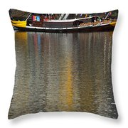 Reflections On Water Throw Pillow