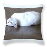 Reflective Maitri Throw Pillow