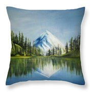 Reflexion 2 Throw Pillow