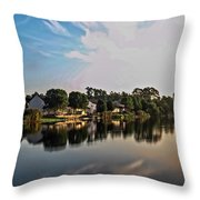 Reflissiones Throw Pillow
