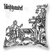 Reformation: Indulgences Throw Pillow