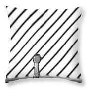 Refraction Column Throw Pillow