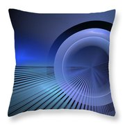 Refractive Index Of Life Throw Pillow