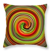 Refresh Your Mind With Tropical And Juicy Colors In Your Dinning Area Throw Pillow