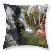 Refreshments Throw Pillow