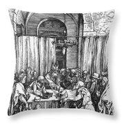 Refusal Of Joachim Offer 1503 Throw Pillow