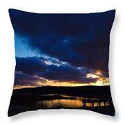 Regal Sundown Throw Pillow