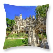 Regaleira Sintra Portugal Throw Pillow
