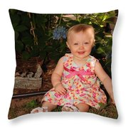 Regan Graves Throw Pillow