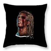 Reggae Throw Pillow
