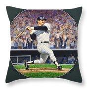 Reggie Jackson Throw Pillow