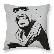 Reggie Throw Pillow by Lynet McDonald