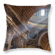 Regnum Caelorum Throw Pillow