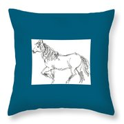 Reina Tolts Throw Pillow