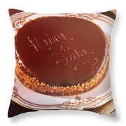 Reine De Saba Throw Pillow