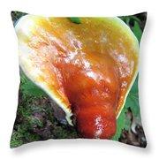Reishi Sprout Throw Pillow