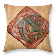 Rejection - Tile Throw Pillow