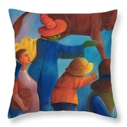 Rejection. Throw Pillow