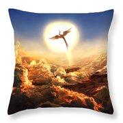 Rekindling Throw Pillow