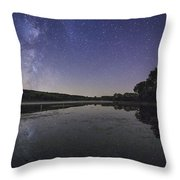 Relax And Look At The Stars Throw Pillow