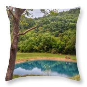 Relax And Sit A Spell Throw Pillow
