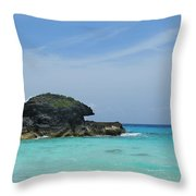 Relax At Horseshoe Bay Bermuda Throw Pillow
