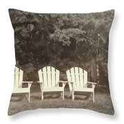 Relax On The Cape Throw Pillow