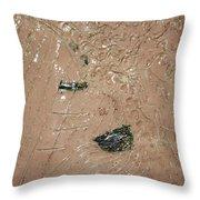 Relaxation - Tile Throw Pillow