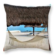 Relaxation Defined Throw Pillow