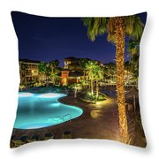 Relaxation Vacation Throw Pillow