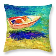 Relaxing Getaway Throw Pillow