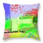 Relaxing Intermission Throw Pillow