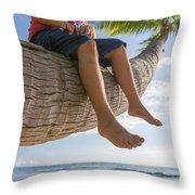 Relaxing Throw Pillow