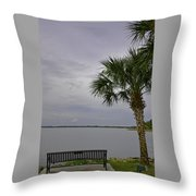 Relaxing Place Throw Pillow